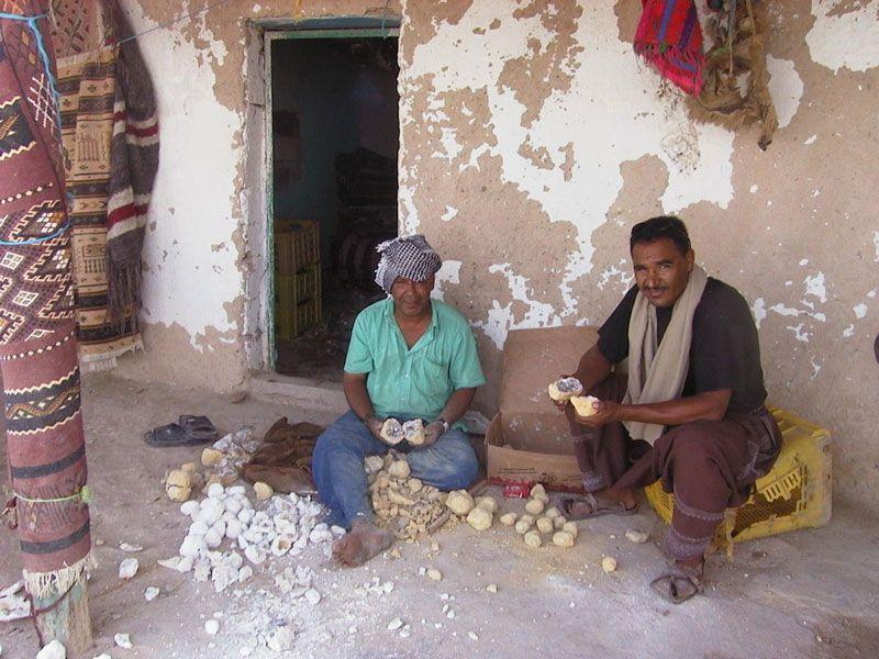 tunesien chott el djerid berge und meer