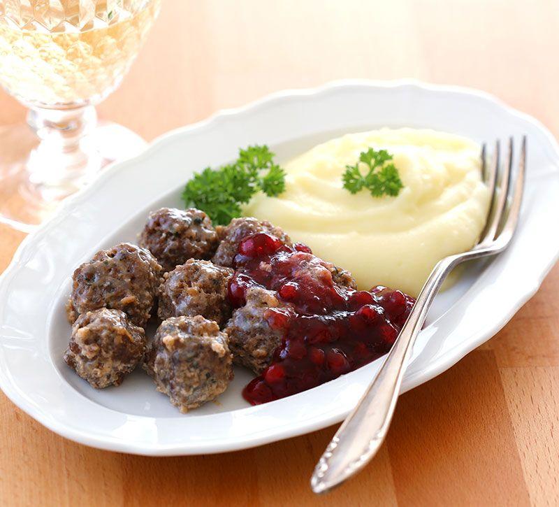 schweden essen berge und meer