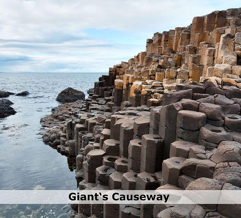 irland giants causeway berge und meer