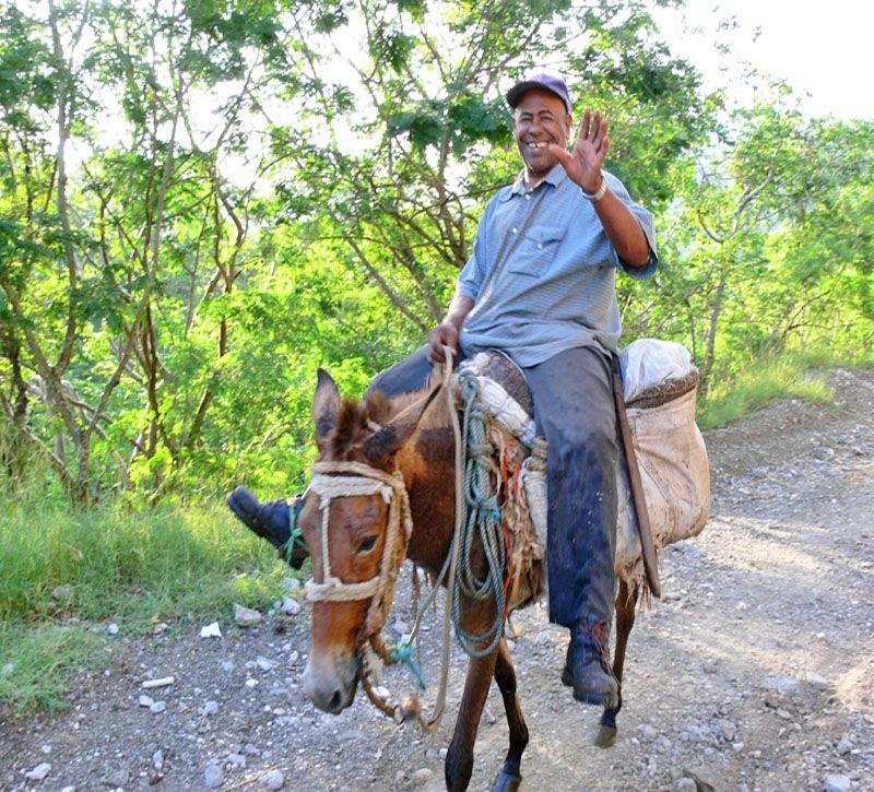 dominikanische republik bm suedwesten esel berge und meer