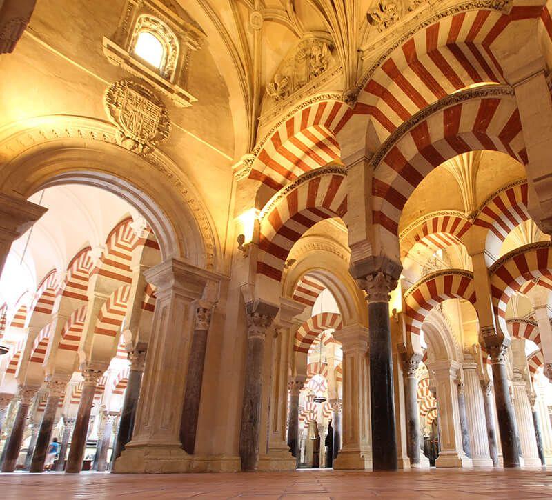 spanien cordoba mezquita berge und meer