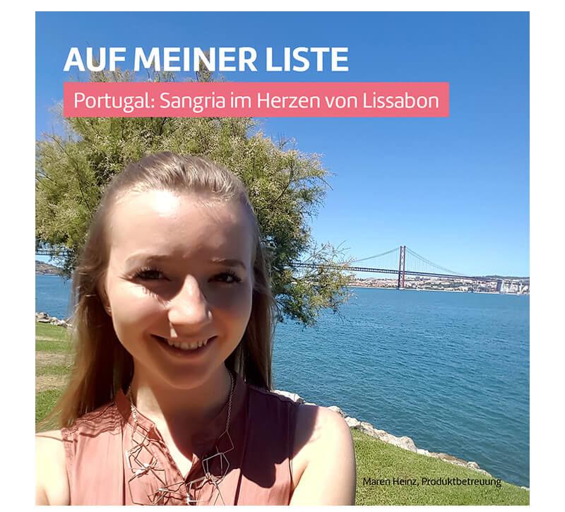 Lissabon  berge und meer