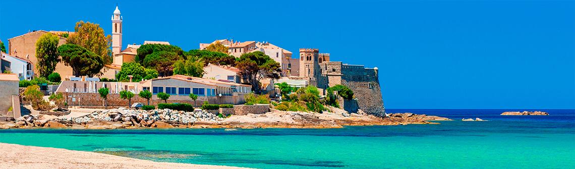 Korsika Urlaub Sommer Sonne Strand Meer Berge Meer
