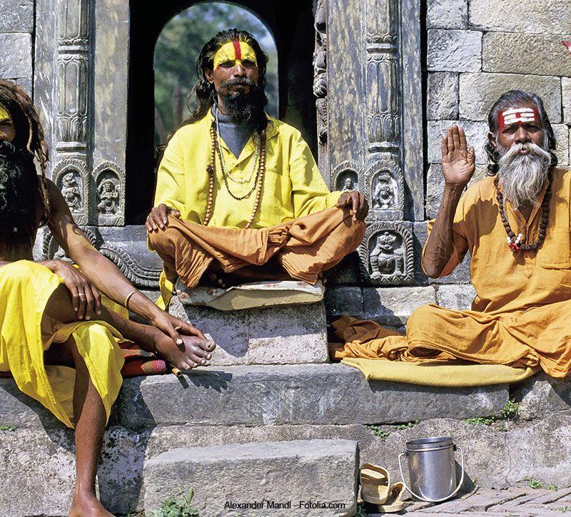nepal hindus berge und meer