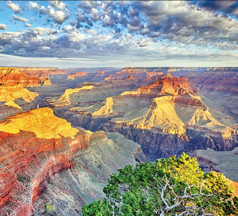 usa grand canyon berge und meer
