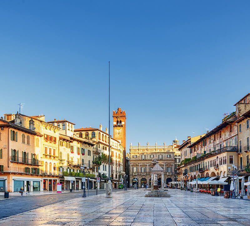 italien verona neu berge und meer