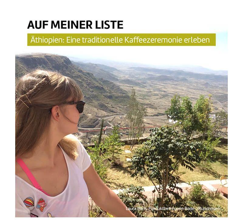 thiopien Laura Bach berge und meer