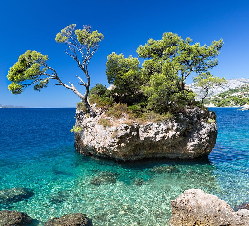 kroatien fisfra berge und meer