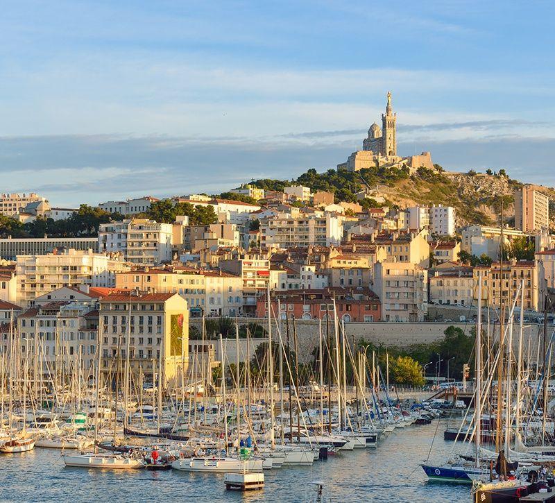 Stars del Mar Marseille berge und meer