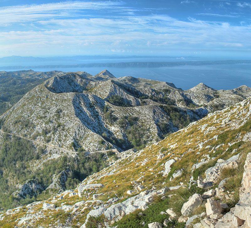 kroatien ghost berge und meer