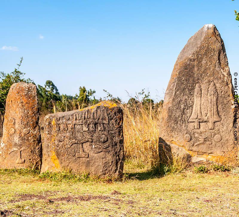 aethiopien berge und meer