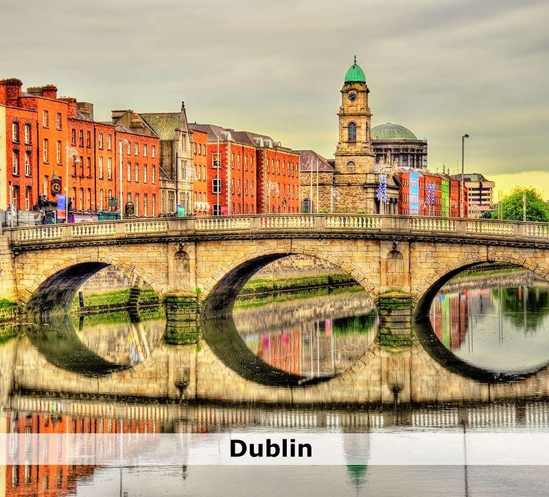 irland irland dublin berge und meer