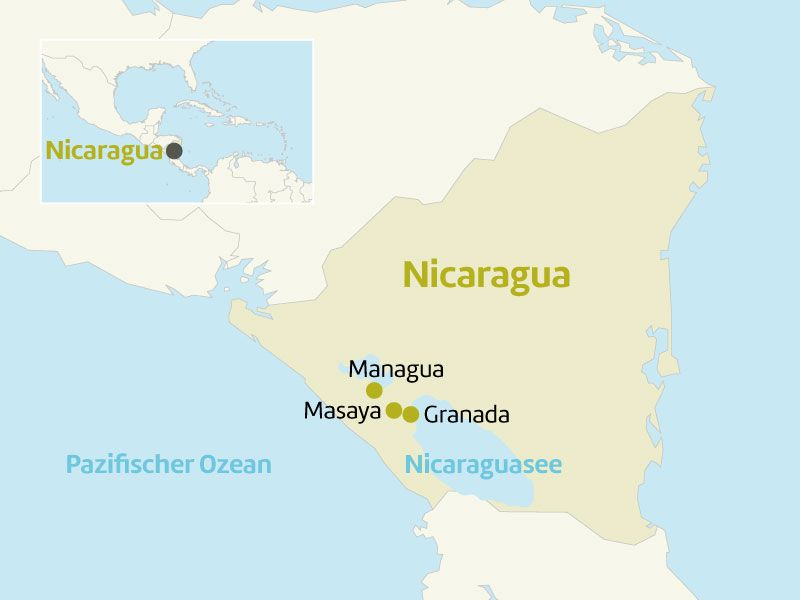 nicaragua laenderinfoseite nicaragua berge und meer