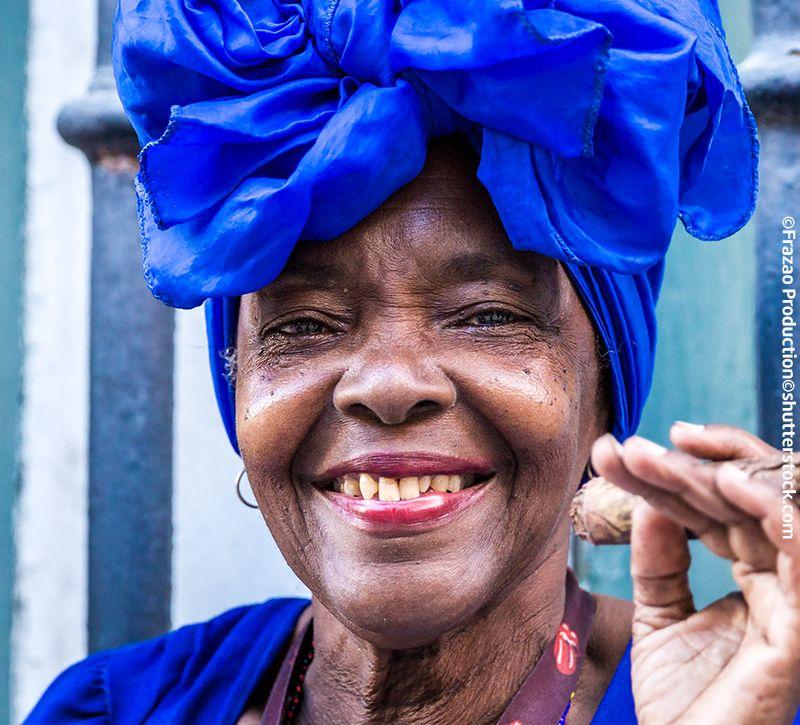 Kuba Kubanerin berge und meer