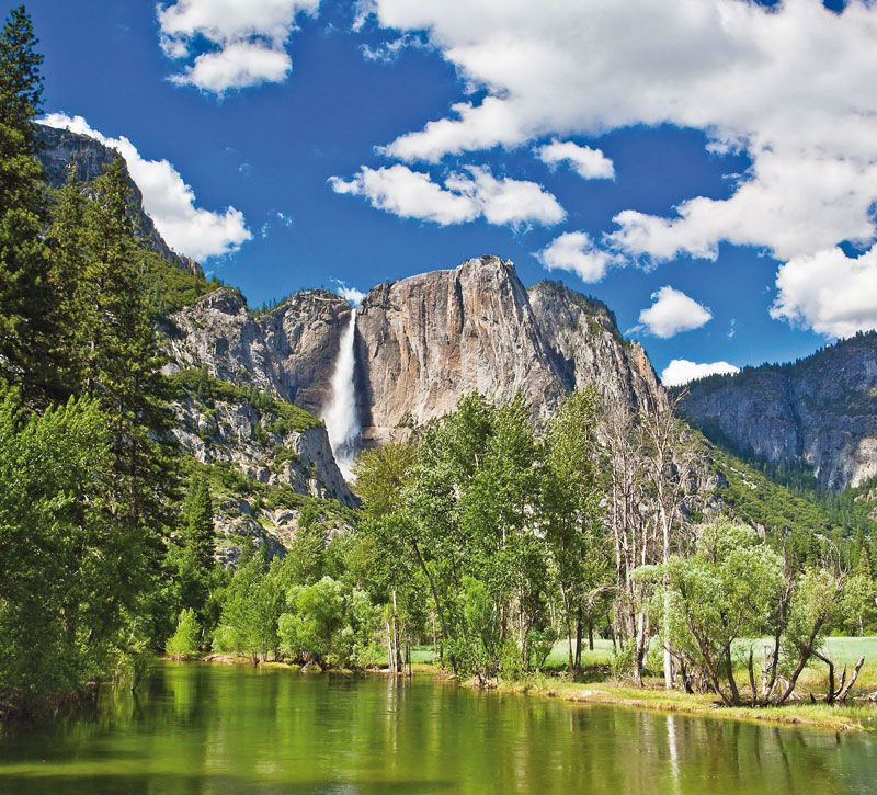 usa yosemite nationalpark berge und meer