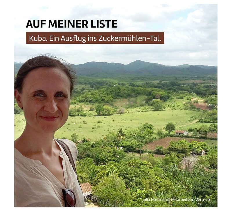 Julia Hartmann Kuba berge und meer