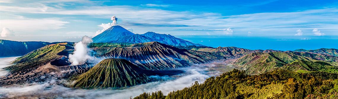Indonesien Reisetipps Informationen Berge Meer