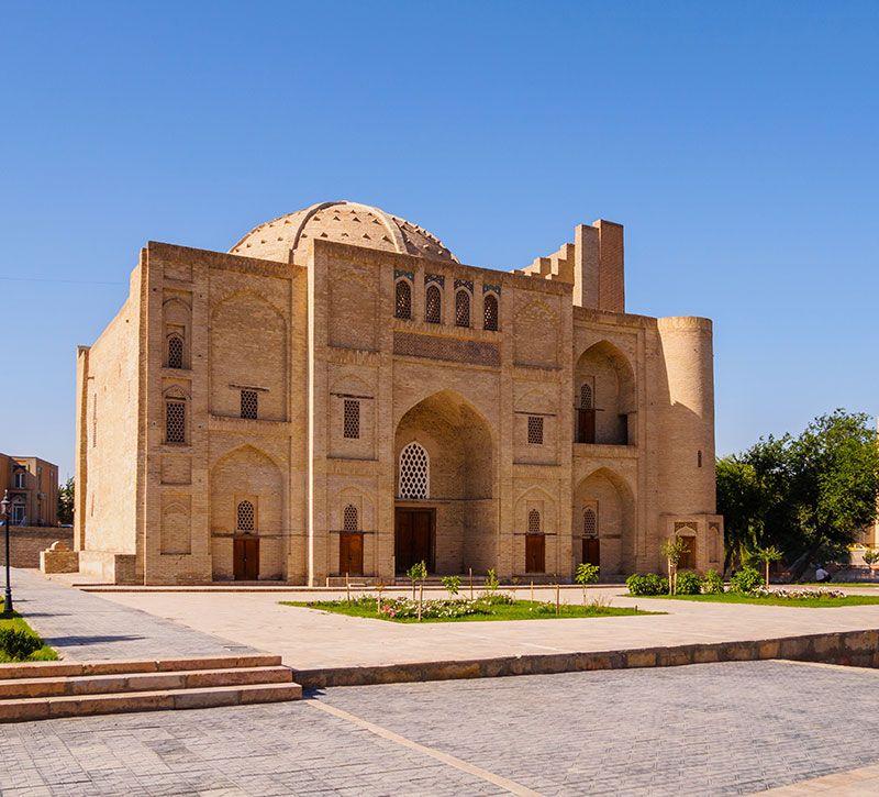usbekistan labi hauz berge und meer