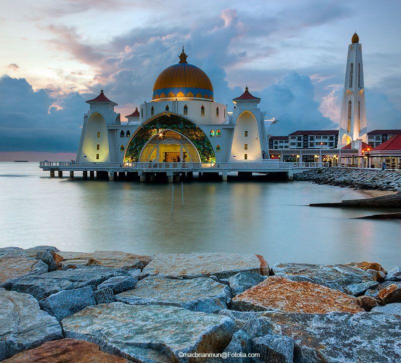 malaysia melaka berge und meer