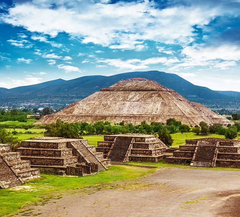 mexiko sonne und mond berge und meer
