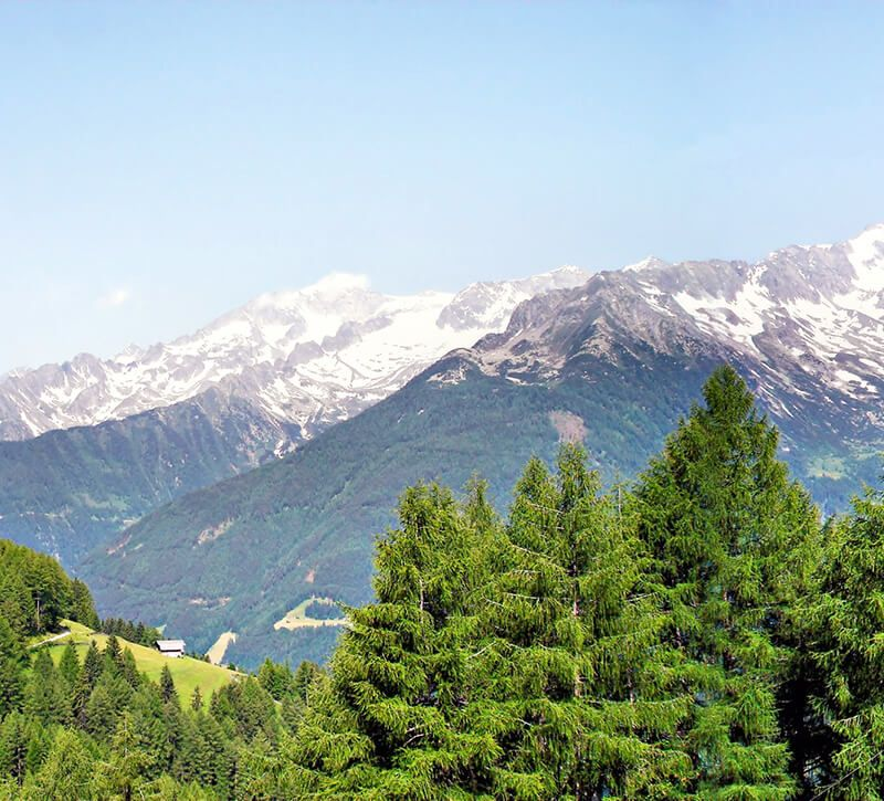 italien dolomiten berge und meer
