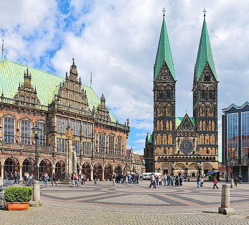 Teaser Bremen panoramablick Platz Steigenberger berge und meer