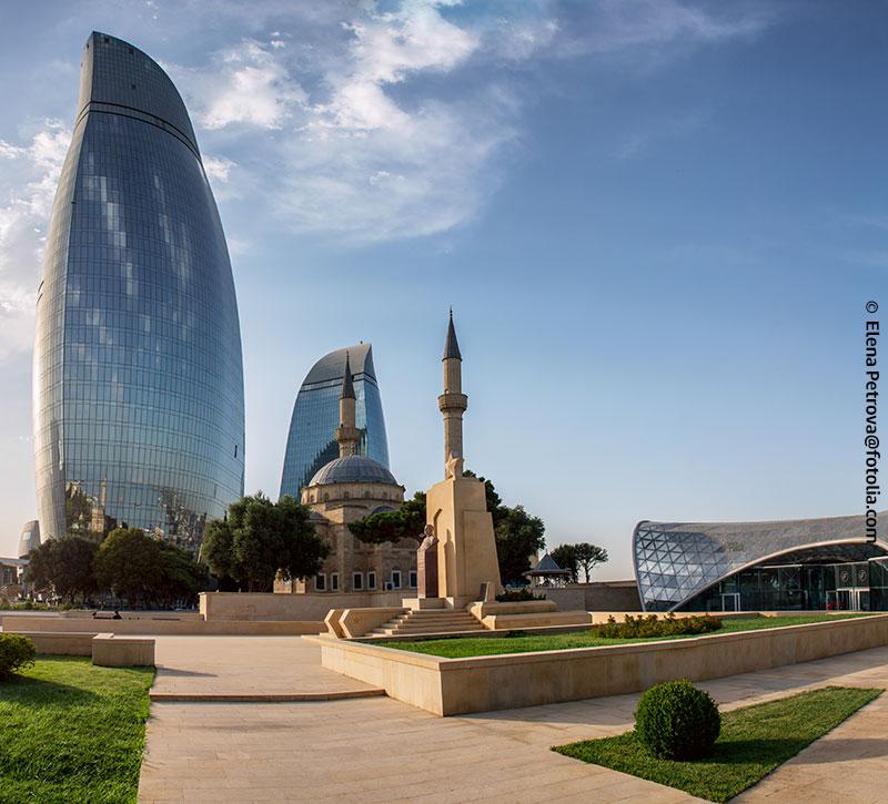 visa info Aserbaidschan berge und meer