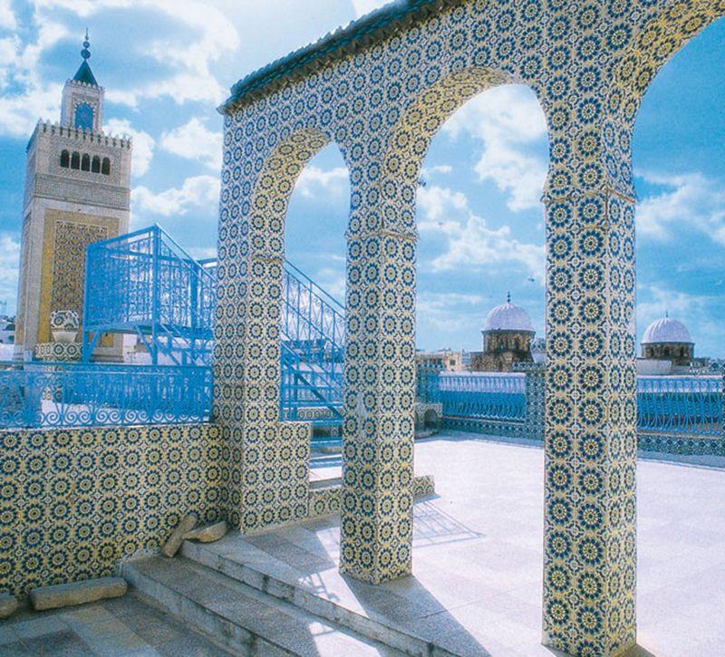 tunesien tunesien berge und meer