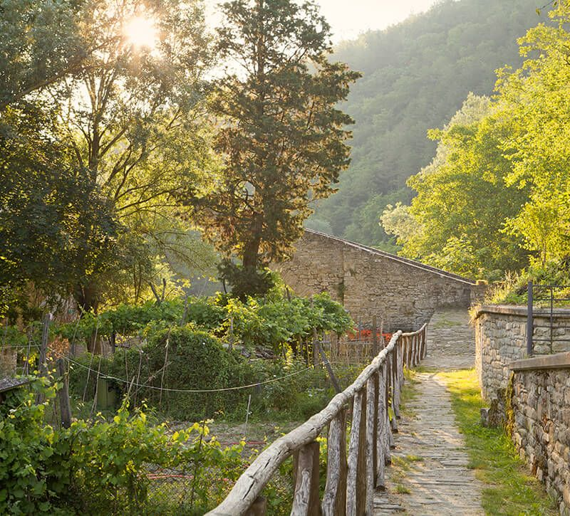 italien latium berge und meer