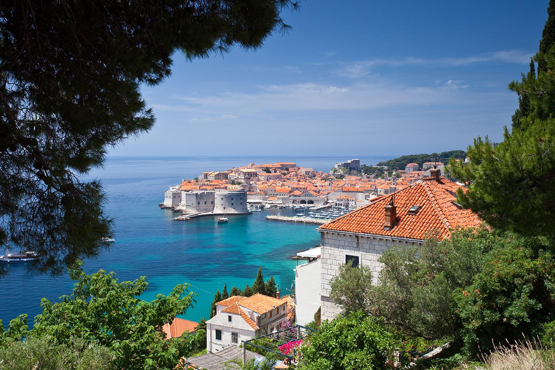 Europa, Kroatien berge und meer