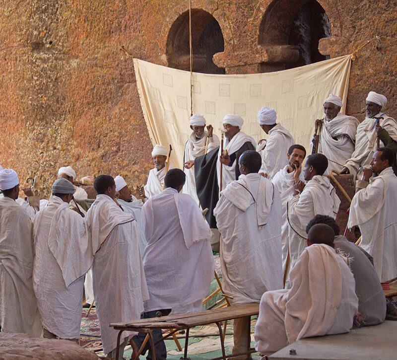 aethiopien lalibela berge und meer