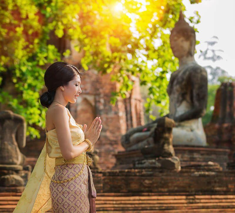 thailand kultur berge und meer