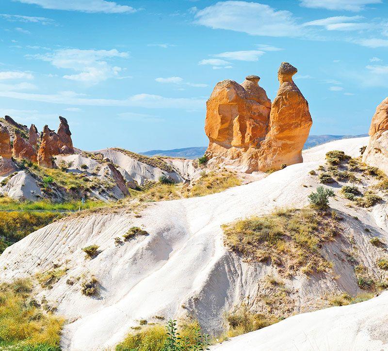 tuerkei kappadokien berge und meer