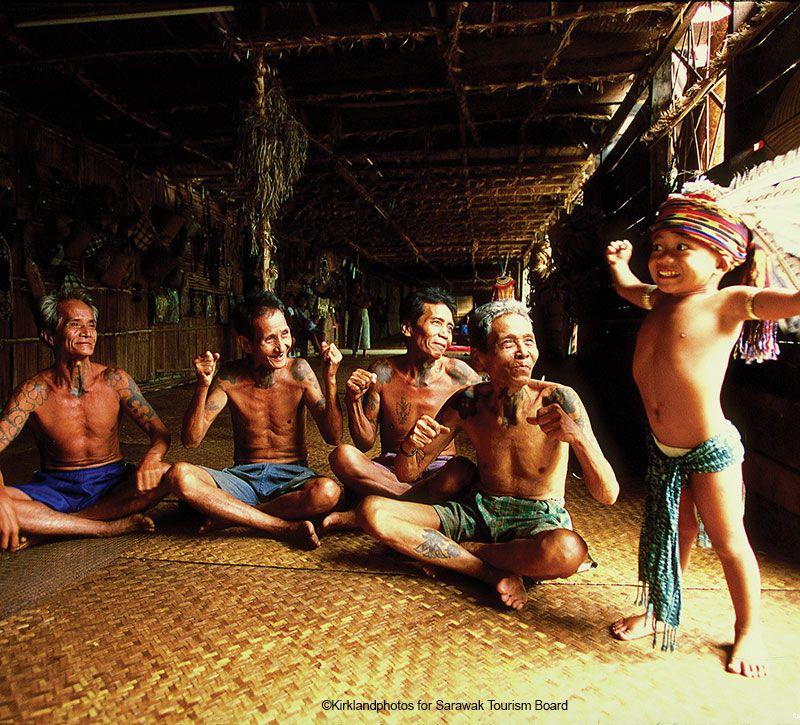 malaysia einheimische berge und meer