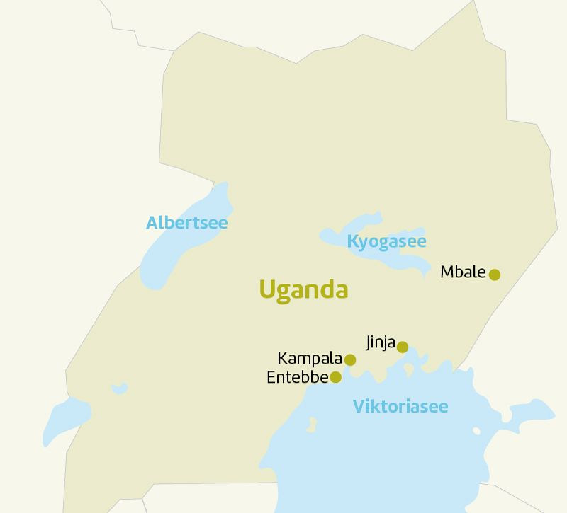 uganda laenderinfoseite uganda berge und meer