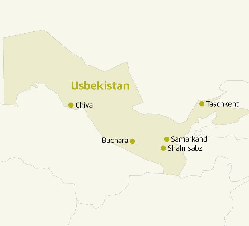 usbekistan laenderinfoseite usbekistan berge und meer