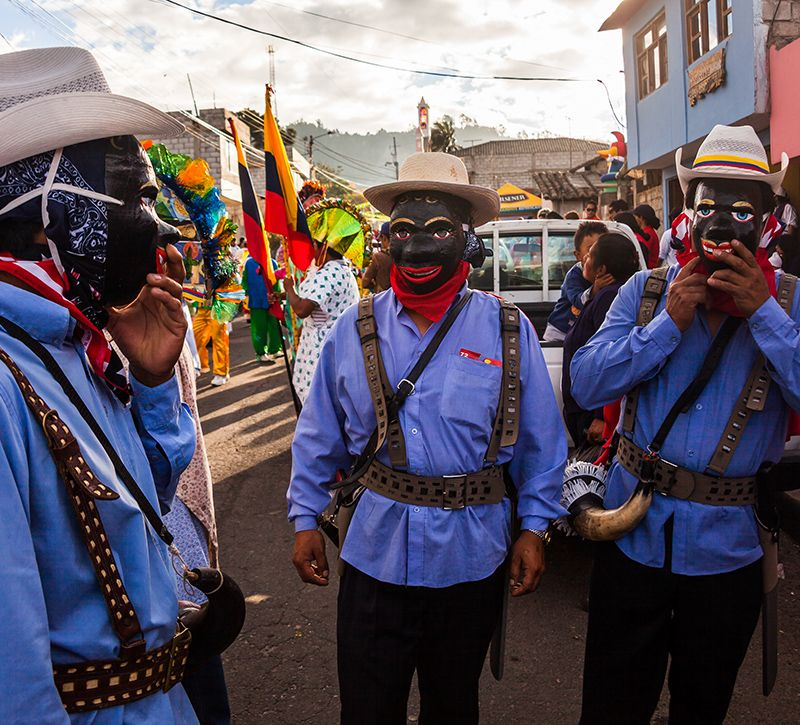 ecuador kultur berge und meer