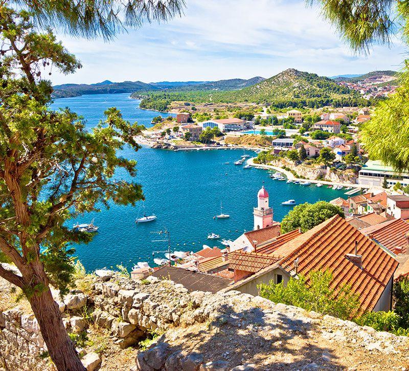 kroatien brchx berge und meer