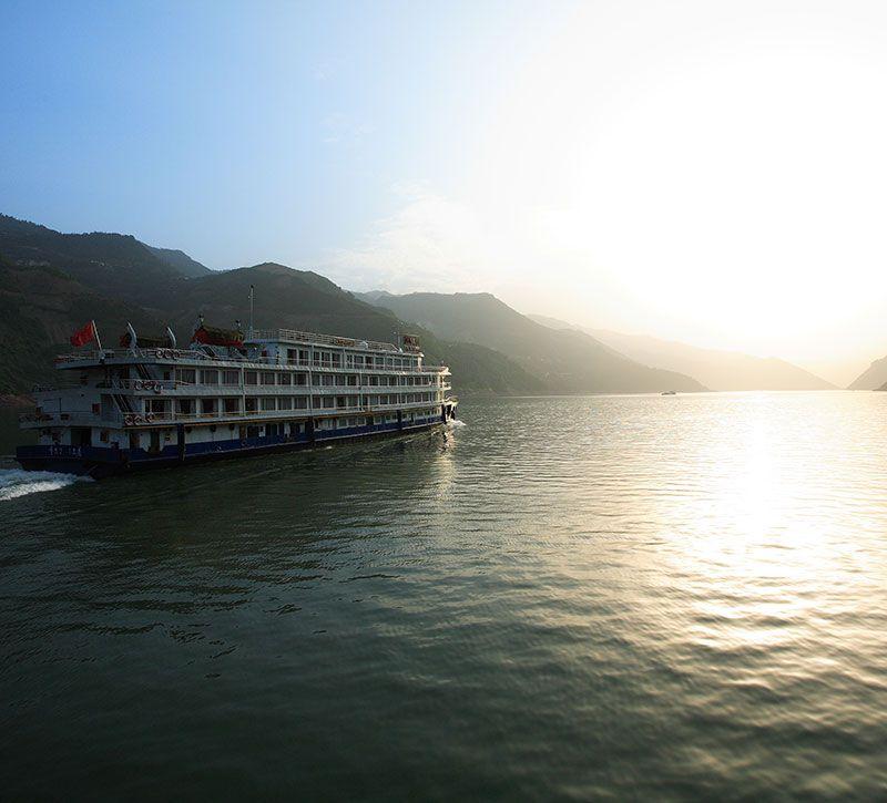 china yangtze kreuzfahrt berge und meer