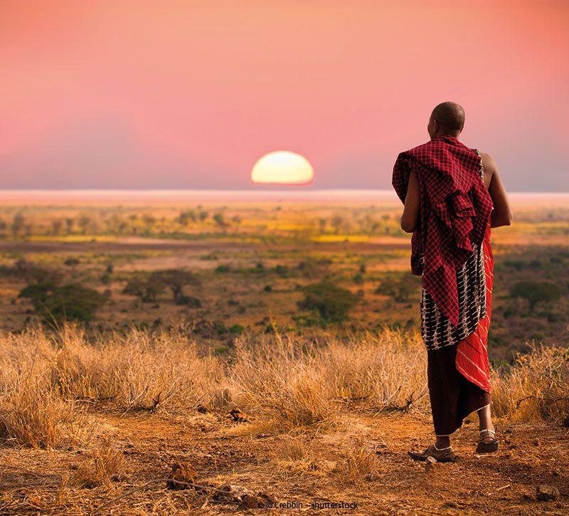 tansania massai berge und meer