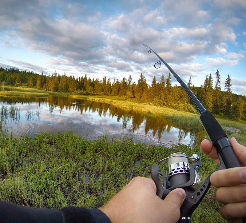 norwegen angeln berge und meer