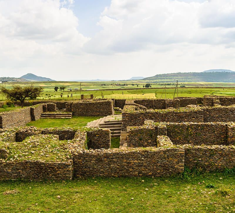 aethiopien axum berge und meer