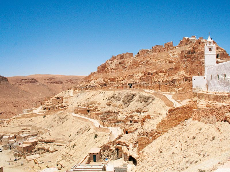 tunesien tataouine ausflug berge und meer