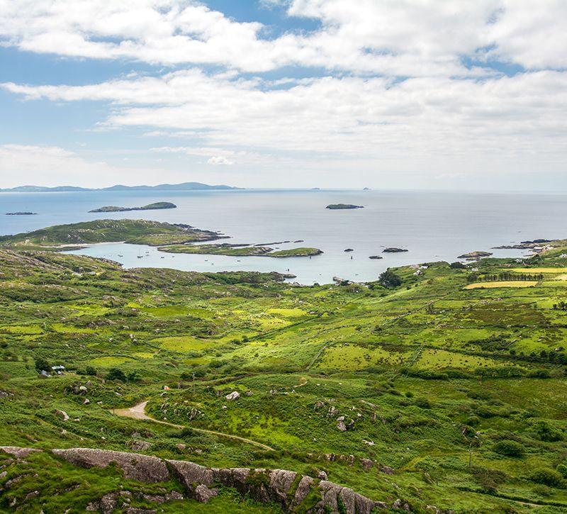 irland ring berge und meer