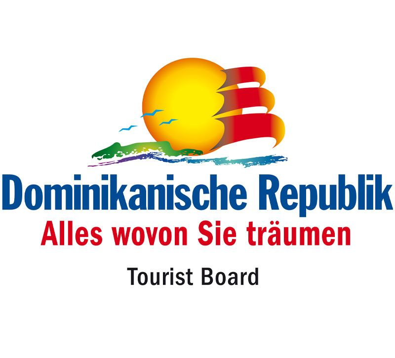 dominikanische republik logo berge und meer