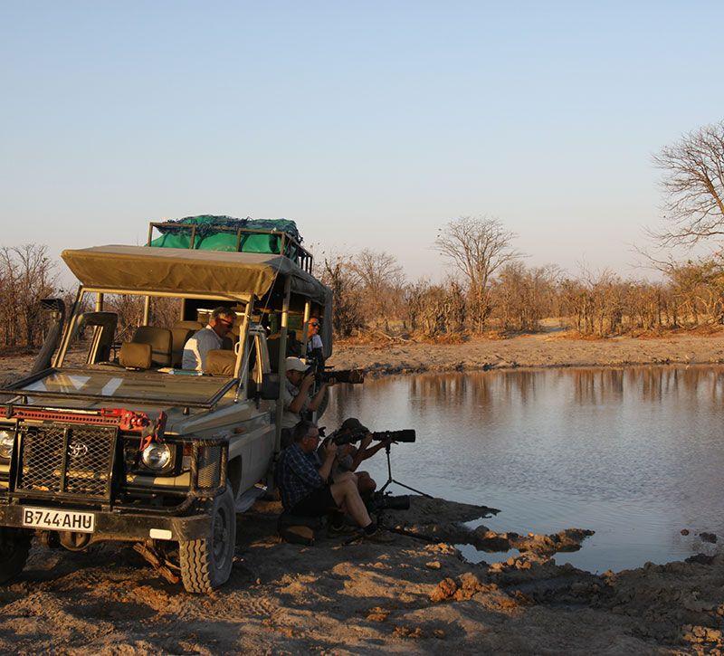 botswana beobachten berge und meer