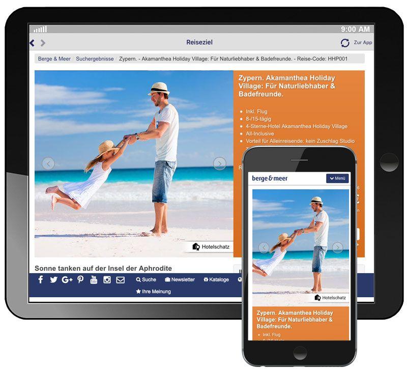 info app buchen detailseite berge und meer