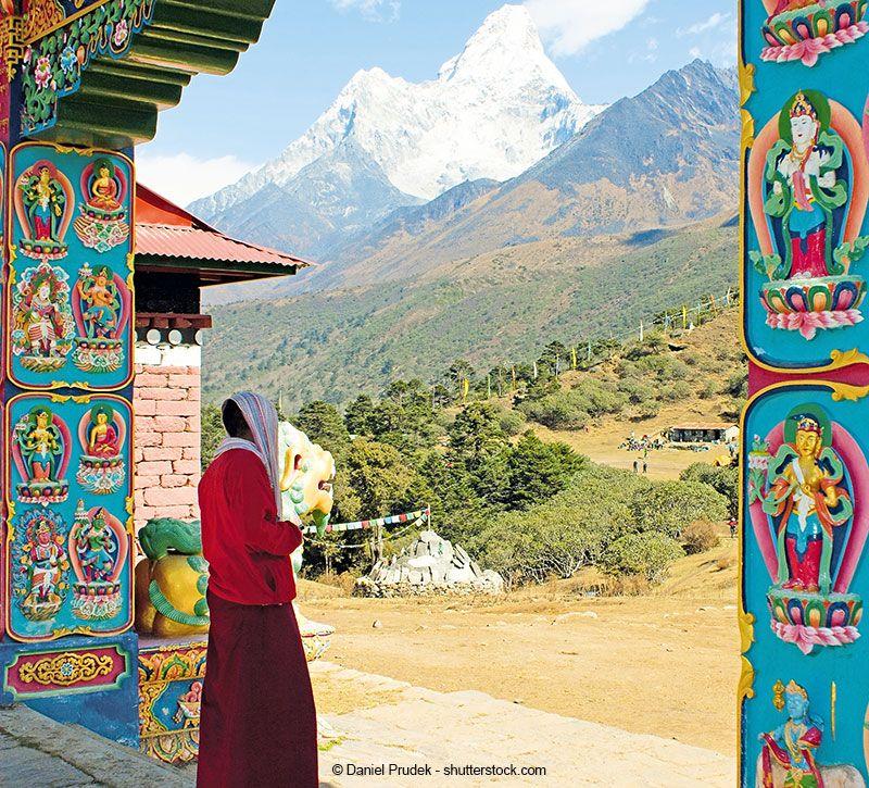 nepal himalaya berge und meer