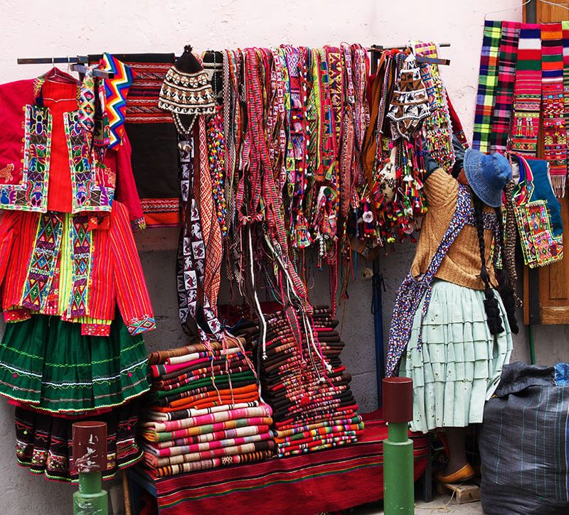 bolivien souvenir berge und meer