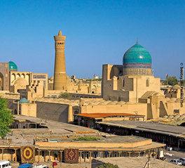 visa info Usbekistan berge und meer